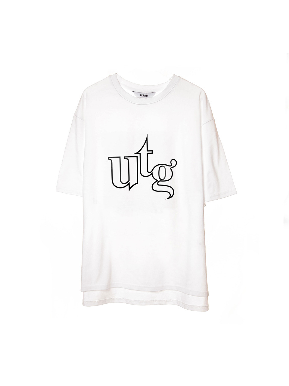 white utg utg over-fit t-shirts