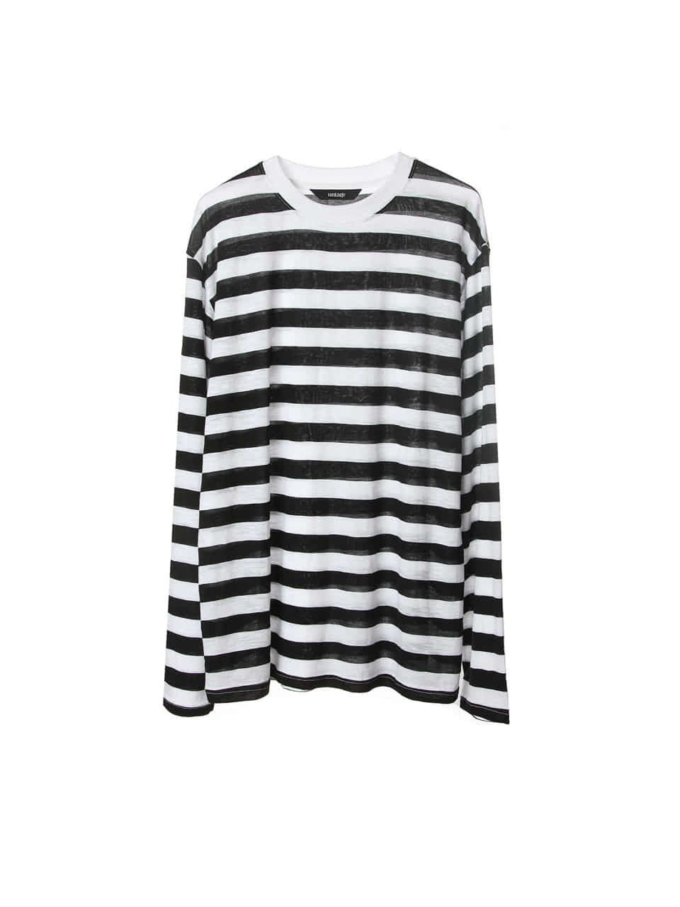 modal bold stripe over-fit sleeve