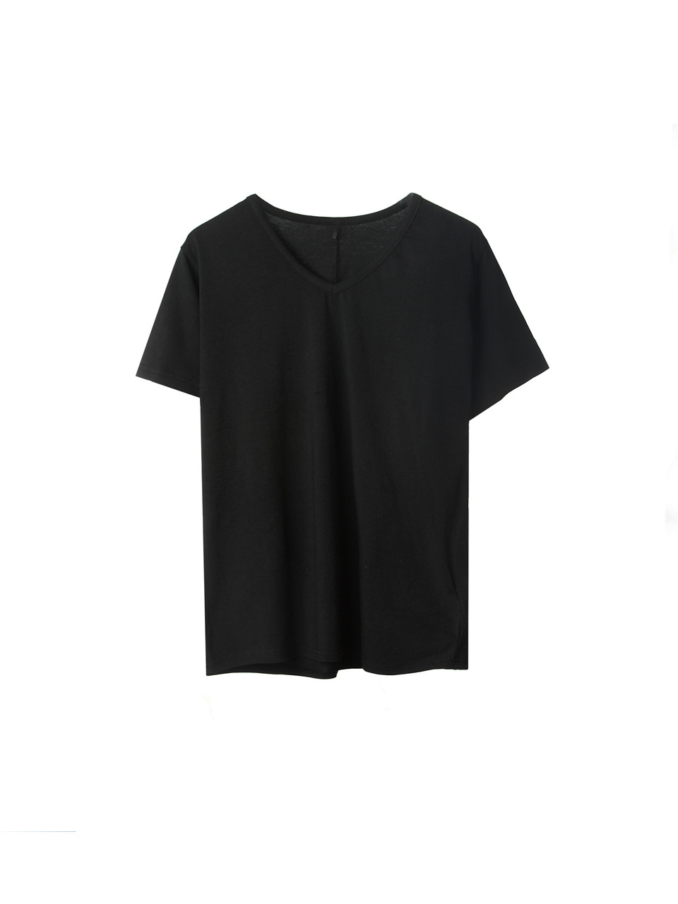 black modal v neck t shirts