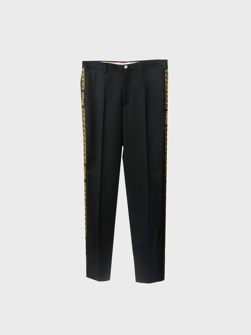 Chain Wool Trousers