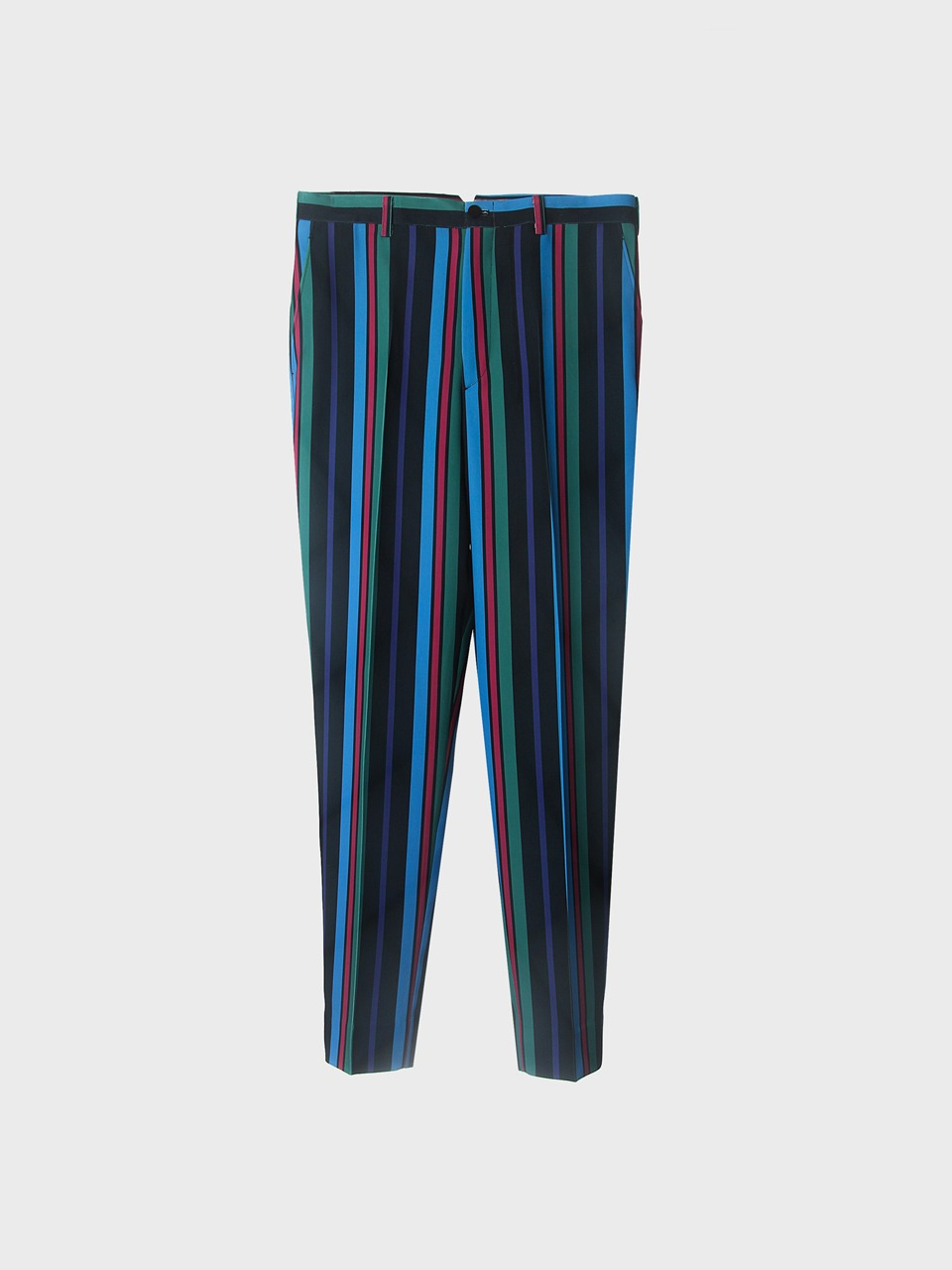 deep stripe trousers
